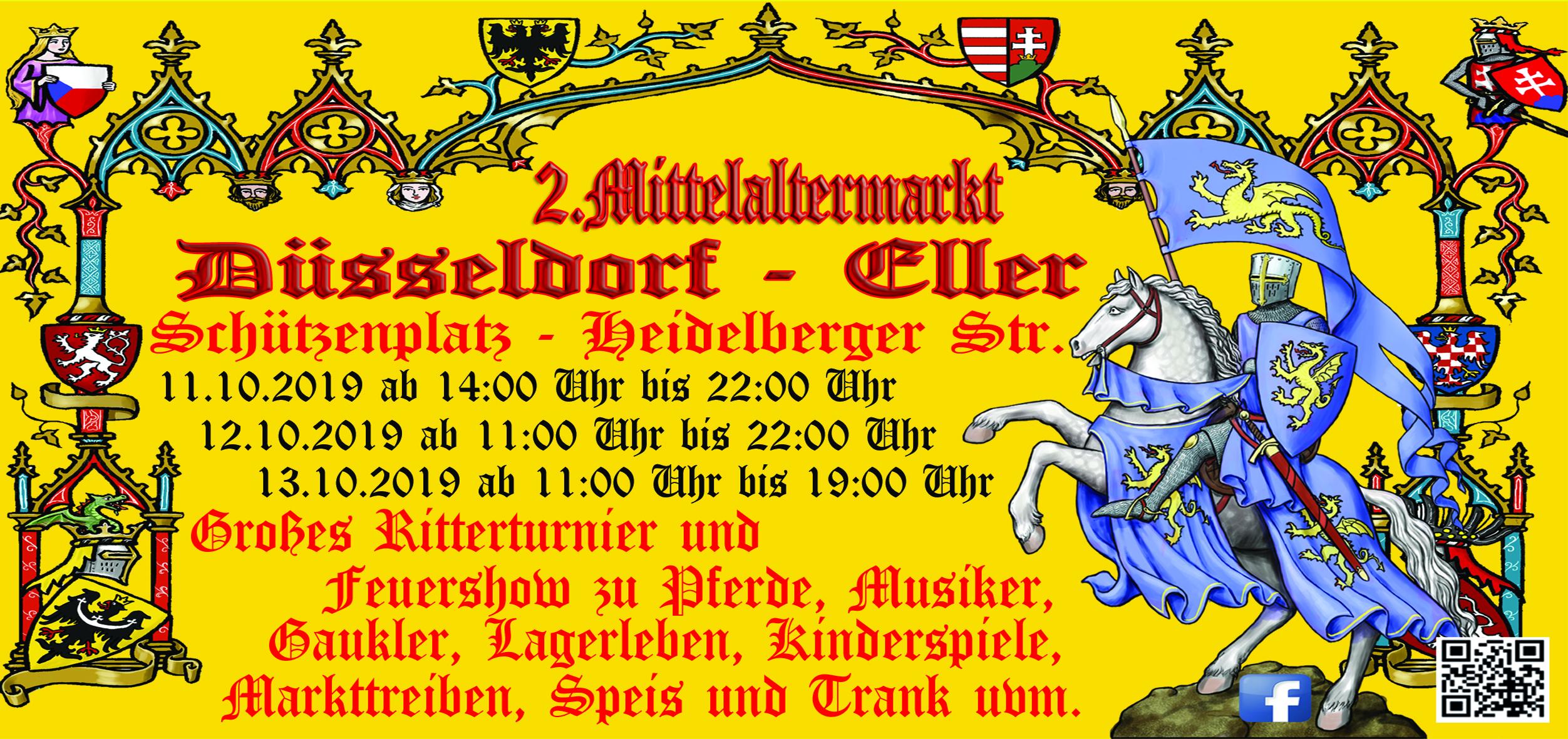 Mittelaltermarkt zu Düsseldorf - Eller